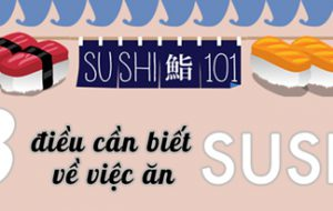 8 điều cần biết trước khi ăn sushi