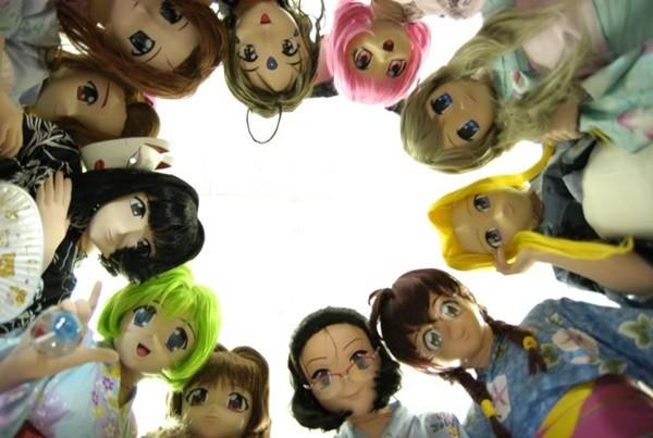 phong cách đeo mặt nạ anime Nhật Bản