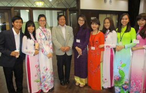 Cuộc thi hùng biện Việt - Nhật tổ chức tại Đh Osaka