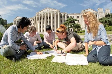 Các trường tại Hàn Quốc giảng dạy bằng tiếng Anh
