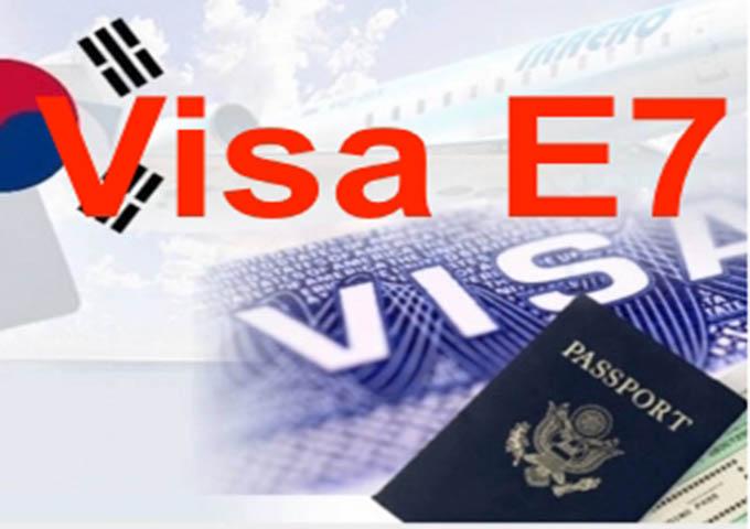 Thông tin và điều kiện cấp visa E7 khi du học Hàn Quốc