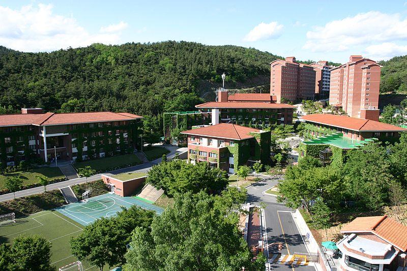 ký túc xá trường đại học keimyung