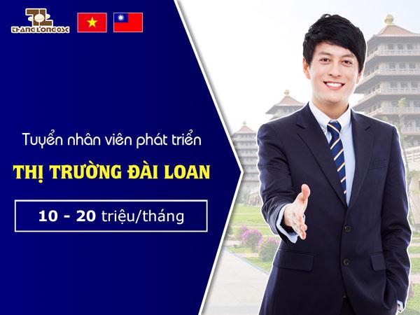 Tuyển nhân viên phát triển thị trường Đài Loan