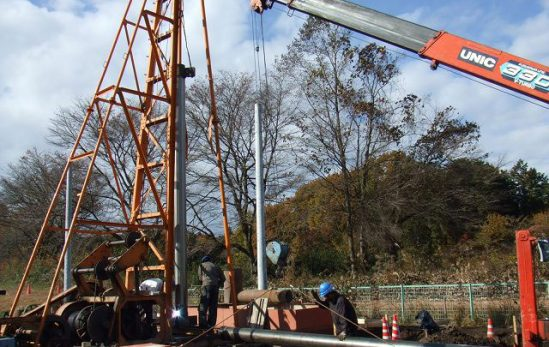 Đơn hàng khoan giếng tại Nhật Bản lương 17,2 man